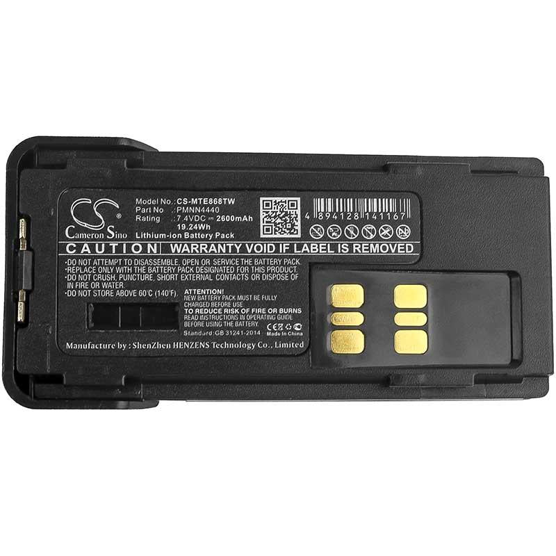 Motorola DP3441 Battery - BG-MTE868TW3