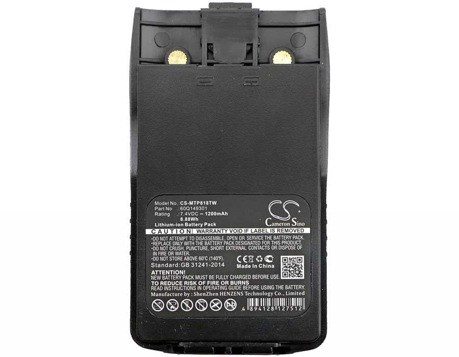 Linton LT-6100 Plus Battery - BG-MTP818TW3