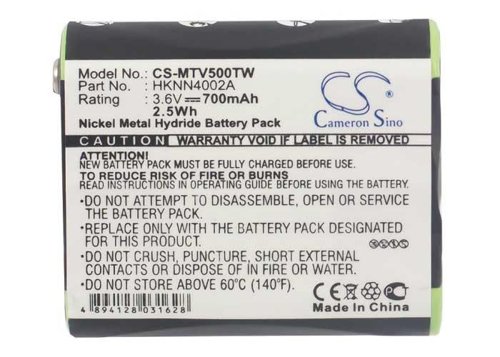 Motorola 53615 Battery - BG-MTV500TW3