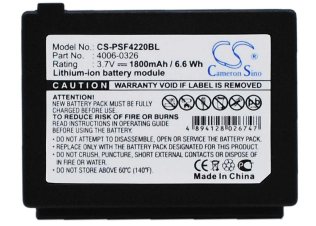 Datalogic C45 Battery - BG-PSF4220BL2
