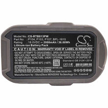 Load image into Gallery viewer, Ryobi CRH1801 Battery - BG-RTB813PW3