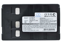 Load image into Gallery viewer, Blaupunkt SCR-250 Battery - BG-VBS10E3