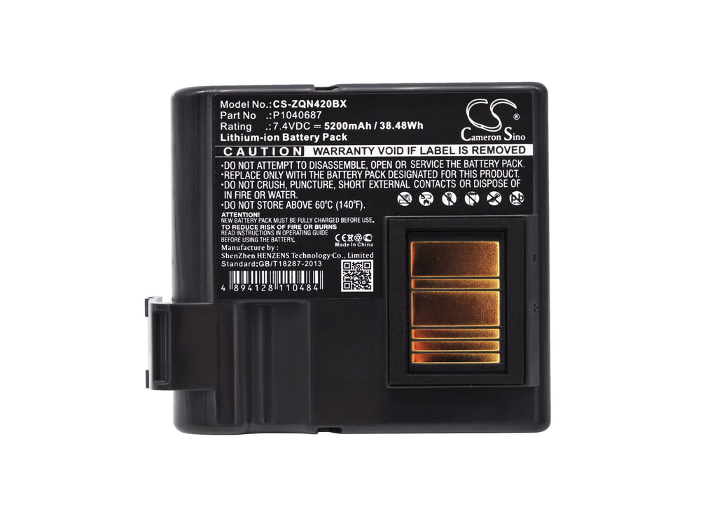 Zebra QLN420 Battery - BG-ZQN420BX3