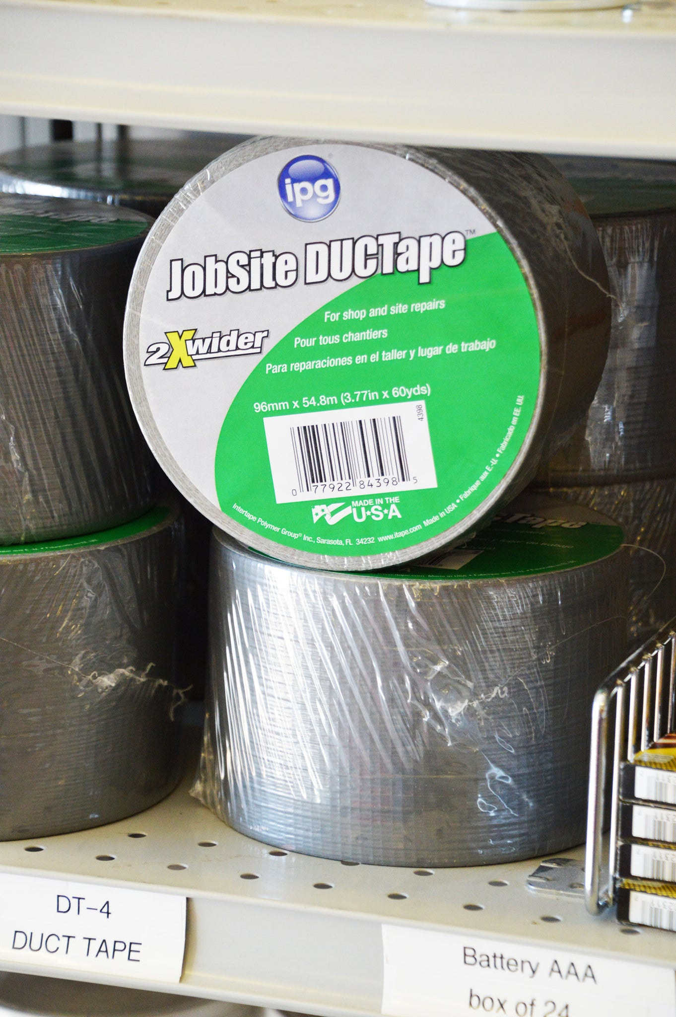 "Duct Tape 4""x60 yds"