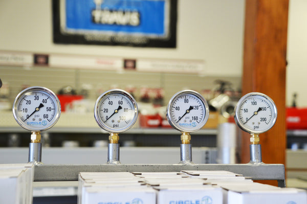 Pressure Gages: 2S-200