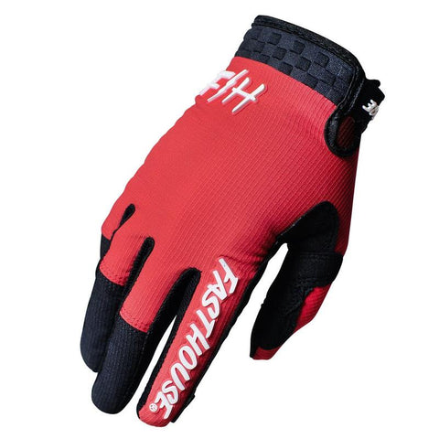 Fasthouse Speed Style Air Glove Red/Black