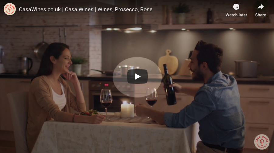 Casa Wines preview their new online video advert