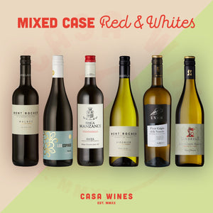 Casa Wines Mixed Cases - Red and White Wines Shop