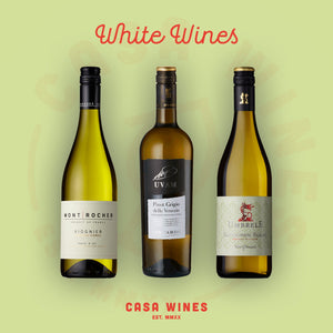 Great white wines from Casa Wines online wine shop