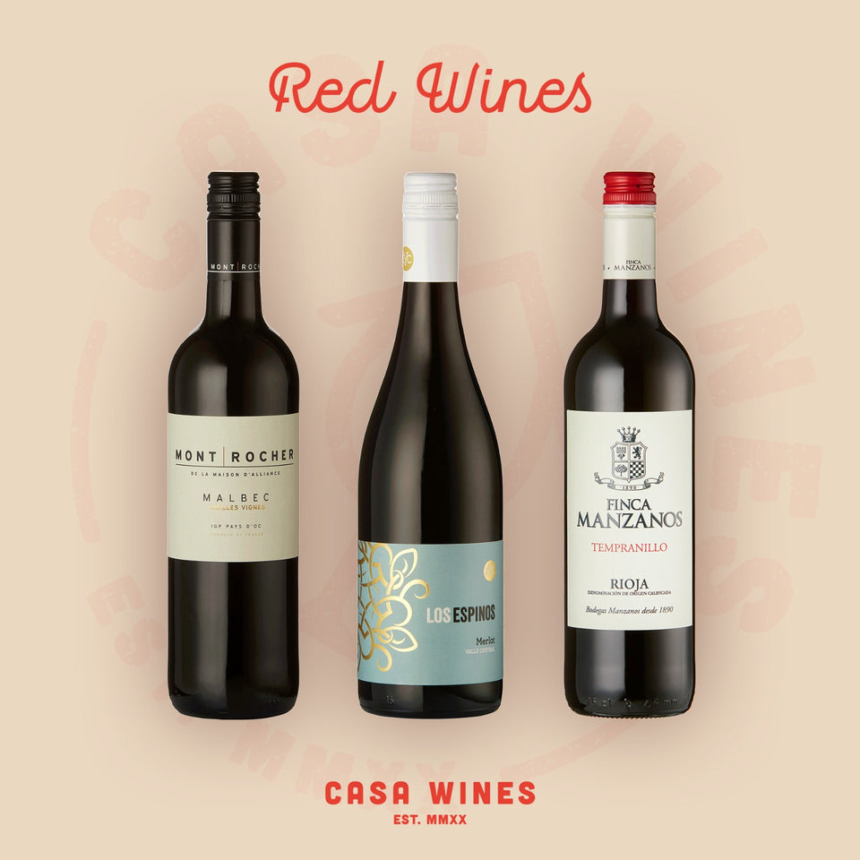 Brilliant Red Wines - Casa WInes are a UK online retailer of wines