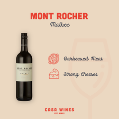 Mont Rocher Red Wine from Casa Wines