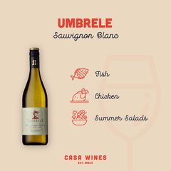 Umbrele White Wine by Casa Wines Online Wine Shop