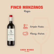 Load image into Gallery viewer, BODEGAS MANZANOS, FINCA MANZANOS TEMPRANILLO, RIOJA, SPAIN, 2018 6 x 75CL