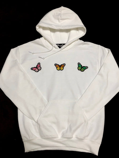Butterflies / White