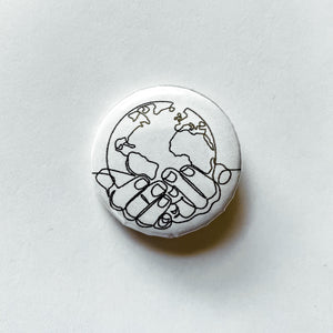 EARTH BUTTON PIN