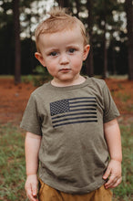 Load image into Gallery viewer, AMERICAN FLAG KIDS TEE