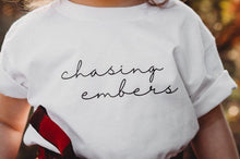 Load image into Gallery viewer, CHASING EMBERS KIDS TEE