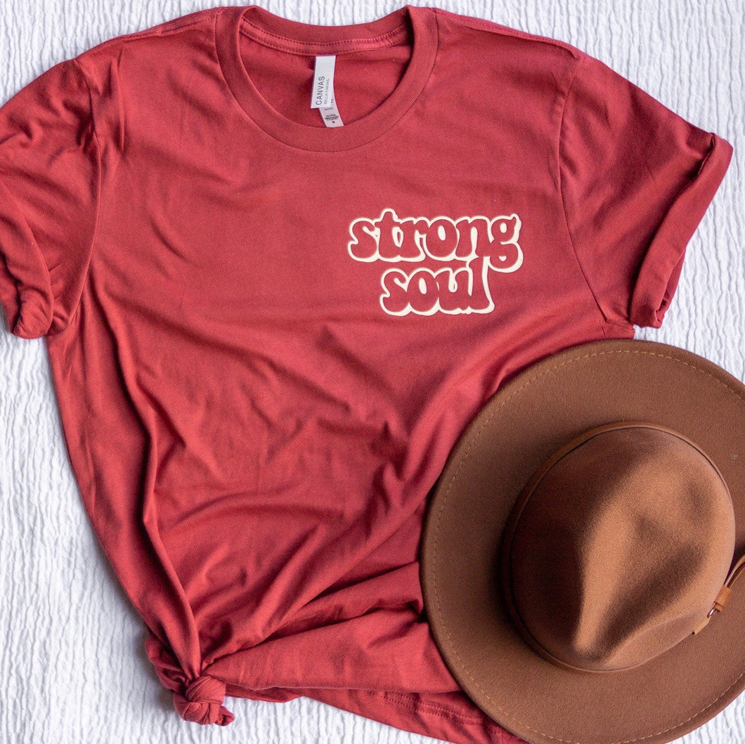 STRONG SOUL ADULT TEE