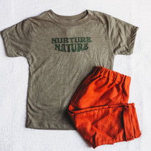 Load image into Gallery viewer, NURTURE NATURE KIDS TEE