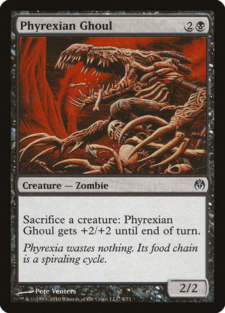 Phyrexian Ghoul [Duel Decks: Phyrexia vs. the Coalition] | Nerdz Cafe