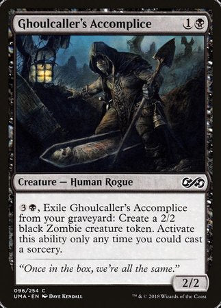 Ghoulcaller's Accomplice [Ultimate Masters] | Nerdz Cafe