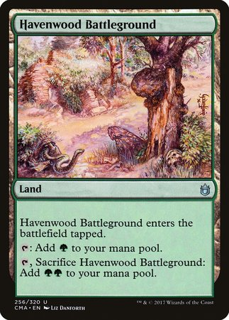 Havenwood Battleground [Commander Anthology] | Nerdz Cafe