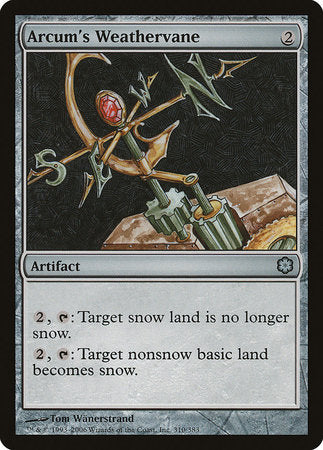 Arcum's Weathervane [Coldsnap Theme Decks] | Nerdz Cafe