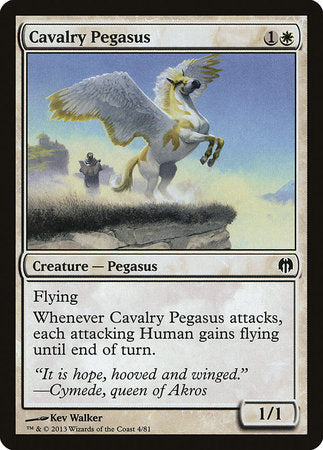 Cavalry Pegasus [Duel Decks: Heroes vs. Monsters] | Nerdz Cafe