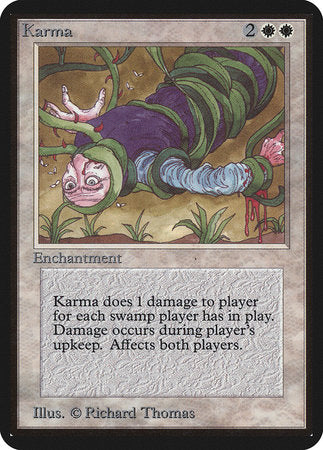 Karma [Limited Edition Alpha] | Nerdz Cafe