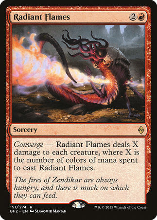 Radiant Flames [Battle for Zendikar] | Nerdz Cafe