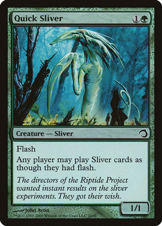 Quick Sliver [Premium Deck Series: Slivers] | Nerdz Cafe