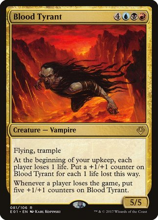 Blood Tyrant [Archenemy: Nicol Bolas] | Nerdz Cafe