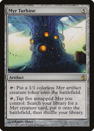 Myr Turbine [Mirrodin Besieged] | Nerdz Cafe