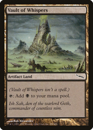 Vault of Whispers [Mirrodin] | Nerdz Cafe