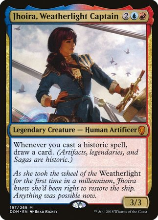 Jhoira, Weatherlight Captain [Dominaria] | Nerdz Cafe