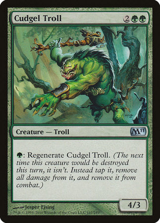 Cudgel Troll [Magic 2011] | Nerdz Cafe