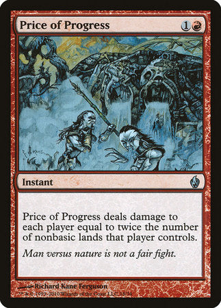 Price of Progress [Premium Deck Series: Fire and Lightning] | Nerdz Cafe
