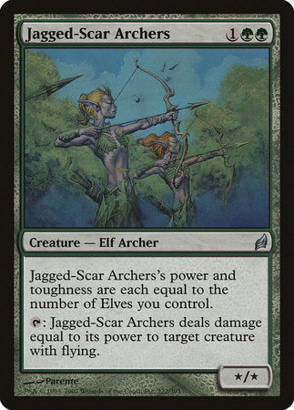 Jagged-Scar Archers [Lorwyn] | Nerdz Cafe