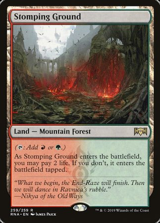 Stomping Ground [Ravnica Allegiance] | Nerdz Cafe