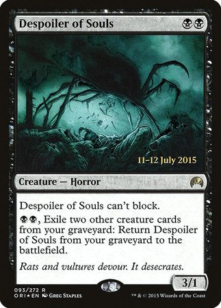 Despoiler of Souls [Magic Origins Promos] | Nerdz Cafe