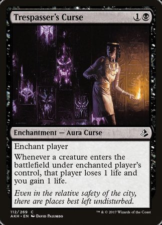 Trespasser's Curse [Amonkhet] | Nerdz Cafe