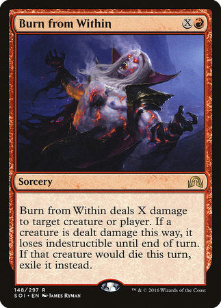 Burn from Within [Shadows over Innistrad] | Nerdz Cafe