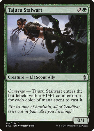 Tajuru Stalwart [Battle for Zendikar] | Nerdz Cafe