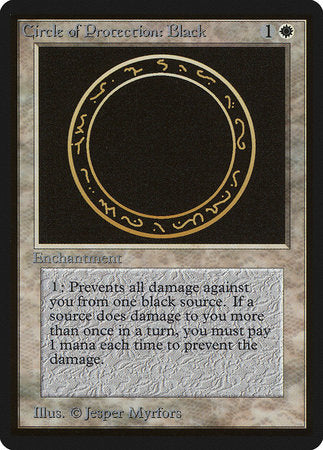 Circle of Protection: Black [Limited Edition Beta] | Nerdz Cafe