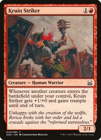Kruin Striker [Duel Decks: Mind vs. Might] | Nerdz Cafe