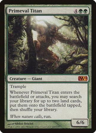 Primeval Titan [Magic 2012] | Nerdz Cafe