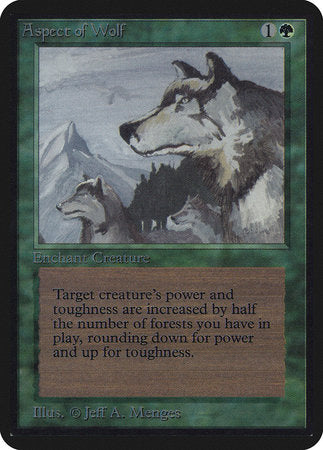 Aspect of Wolf [Limited Edition Alpha] | Nerdz Cafe