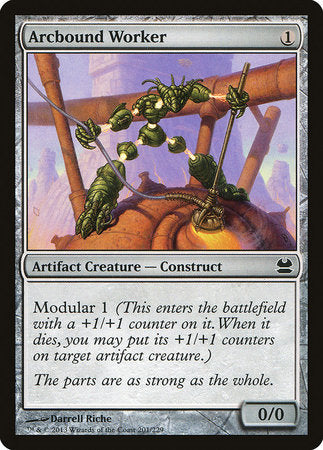 Arcbound Worker [Modern Masters] | Nerdz Cafe
