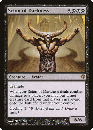 Scion of Darkness [Archenemy] | Nerdz Cafe