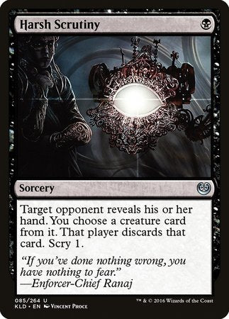 Harsh Scrutiny [Kaladesh] | Nerdz Cafe